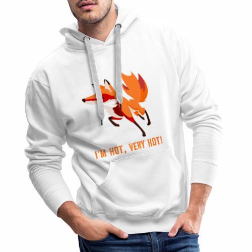 Heisser Fuchs - Männer Premium Hoodie