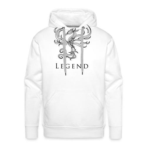 MC Legend Logo - Männer Premium Hoodie