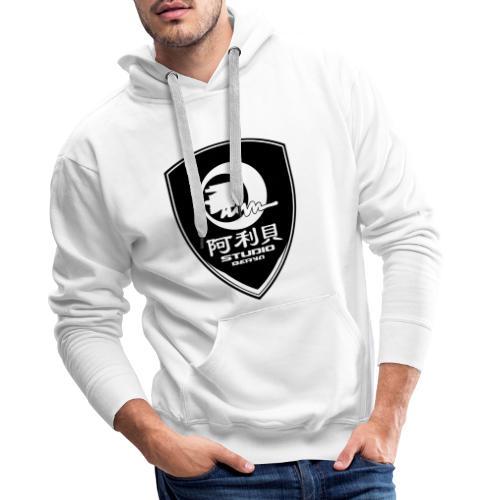 Ecusson BERYA Studio - Sweat-shirt à capuche Premium pour hommes