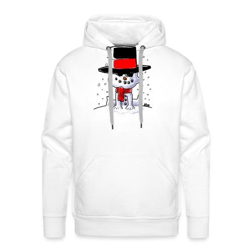 snowbaby hat - Mannen Premium hoodie