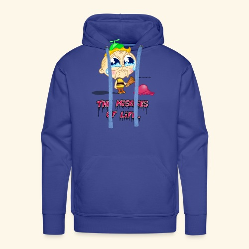 The Miseries of Life Eiscreme Eis Kind - Männer Premium Hoodie