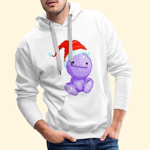 Nohohon de Noël - Bonnet du Père Noël - Sweat-shirt à capuche Premium pour hommes