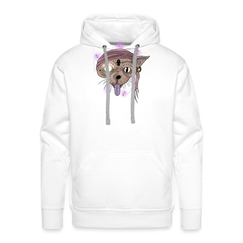 Egyptian cat - Sweat-shirt à capuche Premium pour hommes