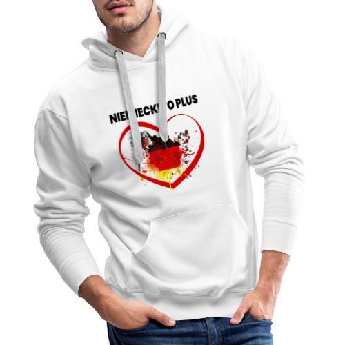 Deutsch Polen Design - Männer Premium Hoodie