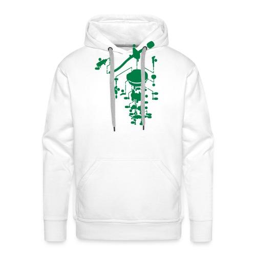 tonearm05 - Mannen Premium hoodie