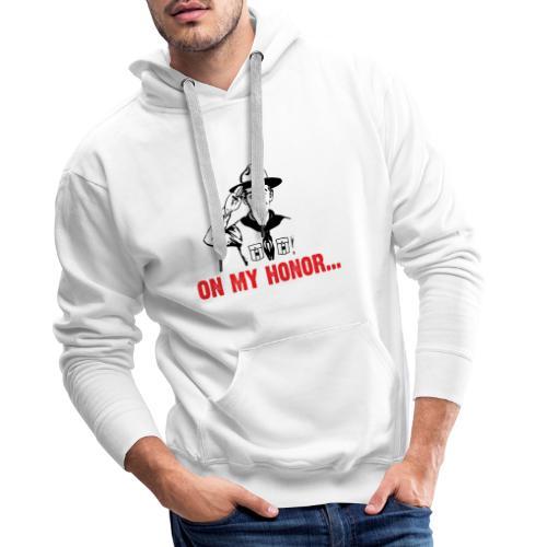 On my Honor ... - Men's Premium Hoodie