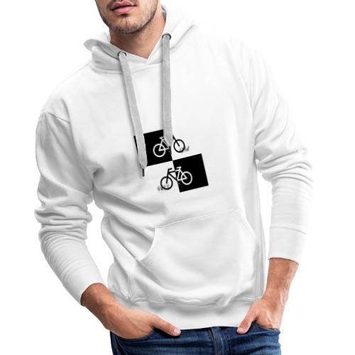 Ich liebe mein Fahrrad T-Shirt für Biker - Männer Premium Hoodie