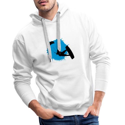 Kitesurf - Sudadera con capucha premium para hombre