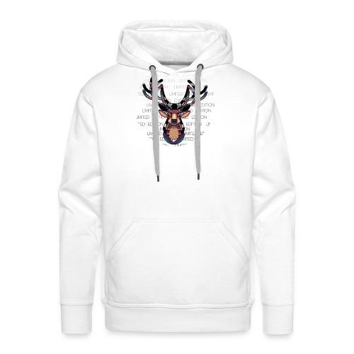 Reno Psicodelico - Sudadera con capucha premium para hombre