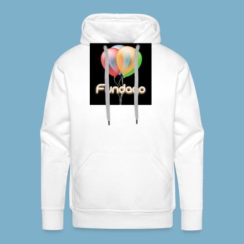 Fundago Ballon - Männer Premium Hoodie