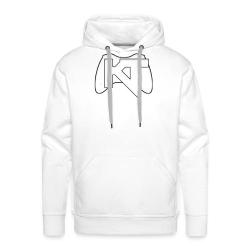 Kwalitijd iphone4/4s Hoesje - Mannen Premium hoodie