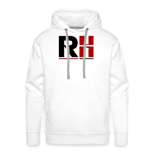 RH HOMME NOIR - Sweat-shirt à capuche Premium pour hommes