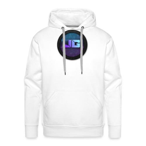 Pet met Logo - Mannen Premium hoodie