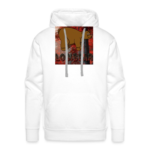 Male Logi Bear Shirt - Men's Premium Hoodie