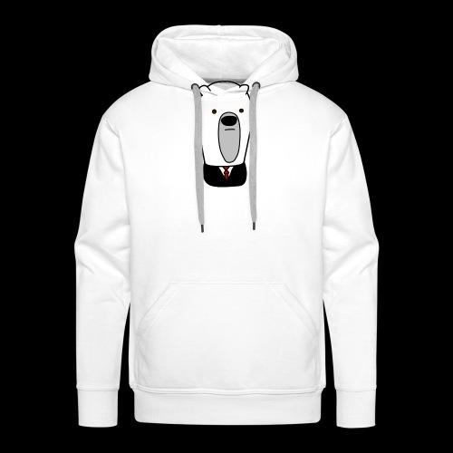 officel_polarbear_shop_logo - Herre Premium hættetrøje