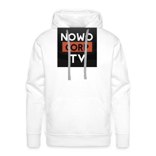 NowoCorptv - Männer Premium Hoodie