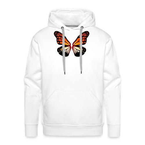 Butterfly wings On Fire - Premium hettegenser for menn