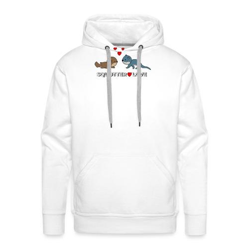 otter squirrel shirt - Mannen Premium hoodie