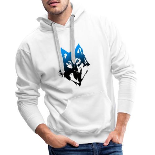 Hampan kläder wolf - Premiumluvtröja herr