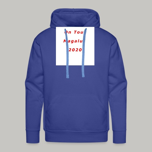 On Tour In Magaluf, 2020 - Printed T Shirt - Men's Premium Hoodie
