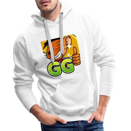 GG 2 copy - Herre Premium hættetrøje