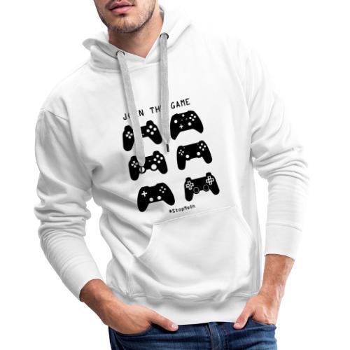 Join The Game - Men's Premium Hoodie