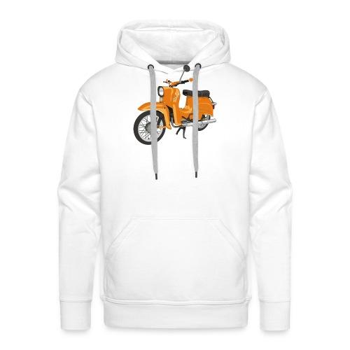 schwalbe in orange - Männer Premium Hoodie