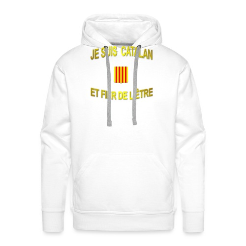 Dessous de verre à l'emblème du PAYS CATALAN - Sweat-shirt à capuche Premium pour hommes