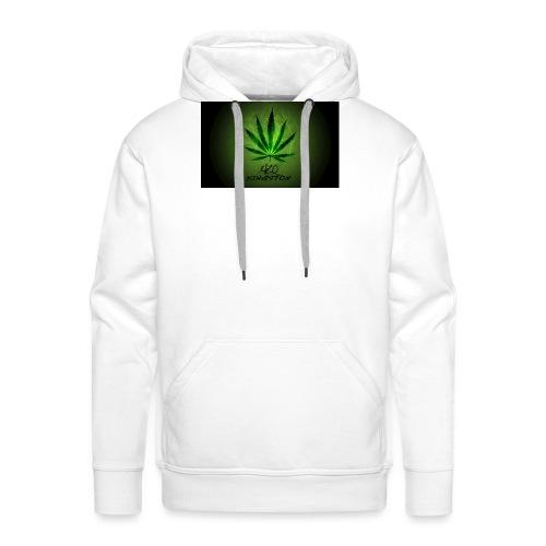 420 hash logo - Herre Premium hættetrøje
