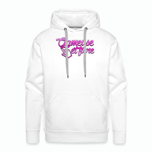 Gameuse et fière - Sweat-shirt à capuche Premium pour hommes