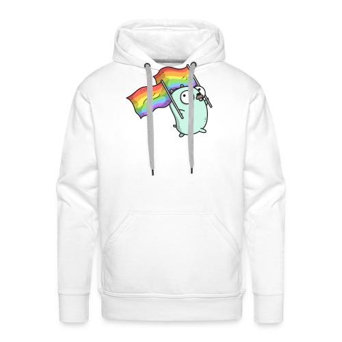 Pride Gopher - Männer Premium Hoodie