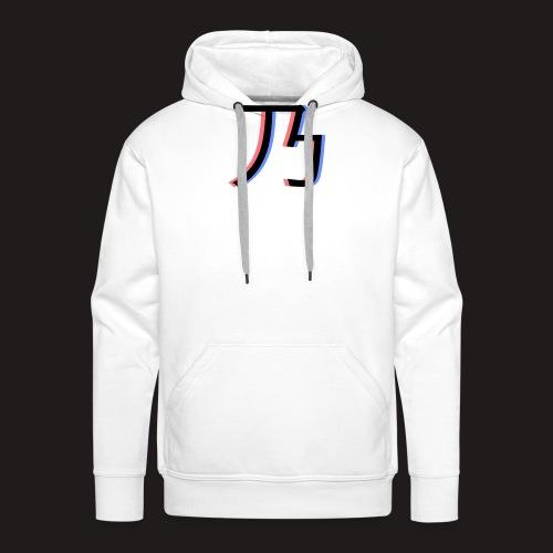 3D Logo - Herre Premium hættetrøje
