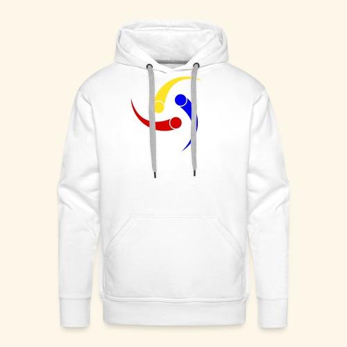 Logo Deporte - Sudadera con capucha premium para hombre