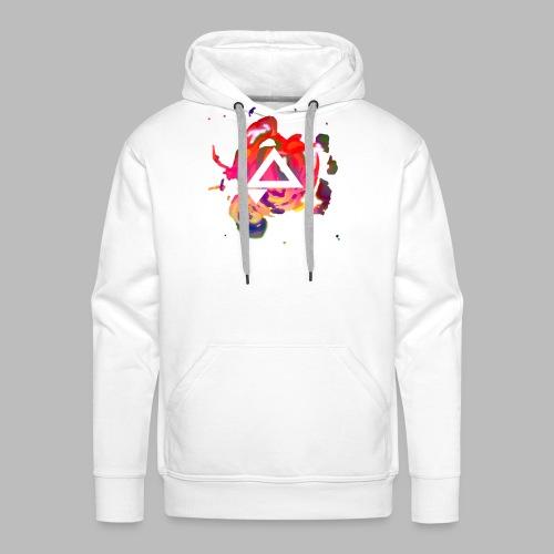 APlays Abstract Explosion Design - Men's Premium Hoodie