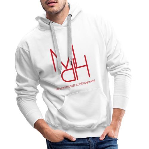 MdH - Hauswirtschaft ist Management - Männer Premium Hoodie