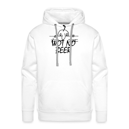 WOT NO BEER - Men's Premium Hoodie