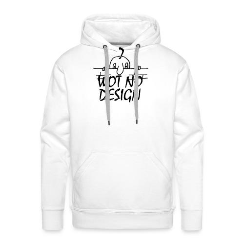 WOT NO DESIGN - Men's Premium Hoodie