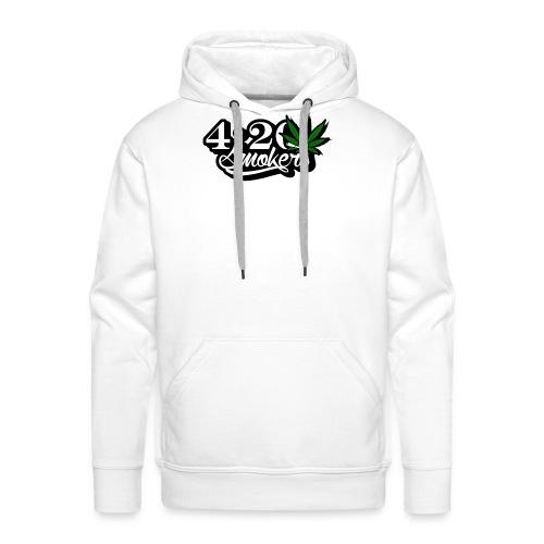 420 smoker - Men's Premium Hoodie