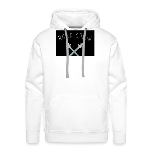 Road_Crew_Guitars_Crossed - Men's Premium Hoodie