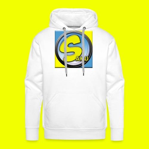 samu-logo V2 best - Premium hettegenser for menn