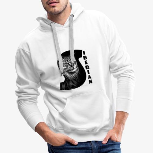 Siberian Cat S - Miesten premium-huppari