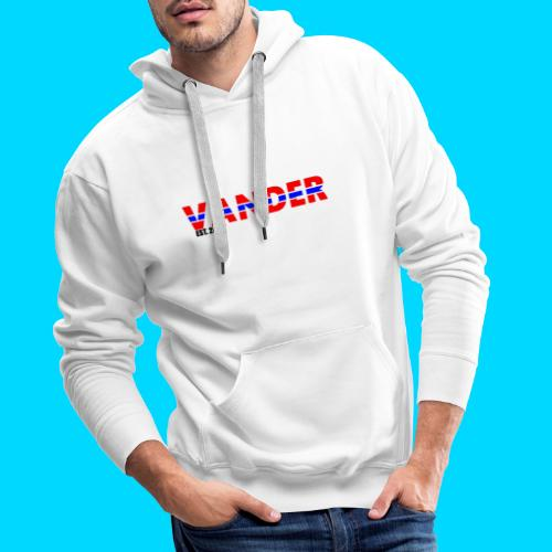 Vander in Red, white and blue. - Men's Premium Hoodie