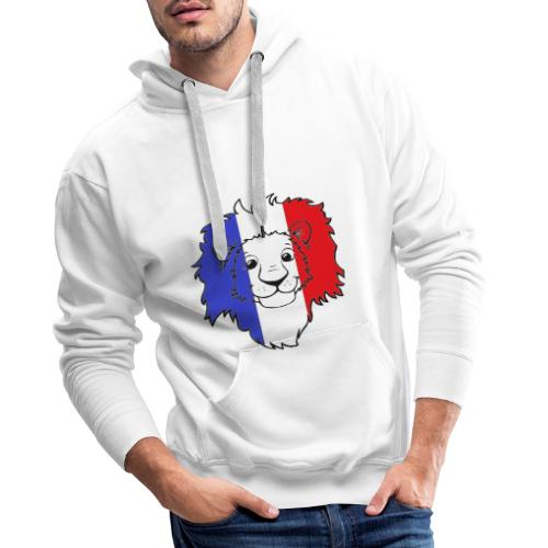 Lion France - Sweat-shirt à capuche Premium pour hommes