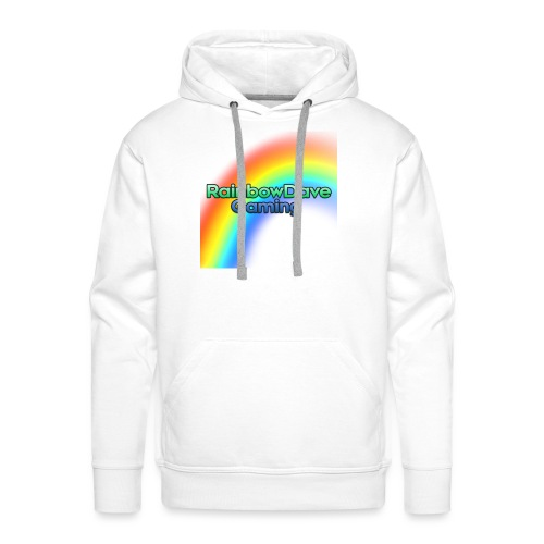 RainbowDave Gaming Logo - Men's Premium Hoodie