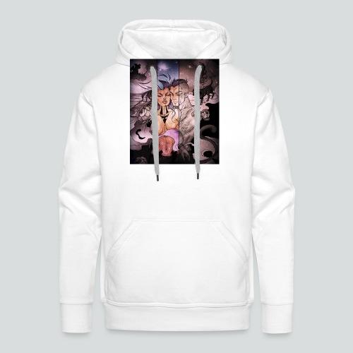 Apocalypstrip cover - Sweat-shirt à capuche Premium pour hommes