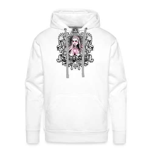 Our mother of light - Mannen Premium hoodie
