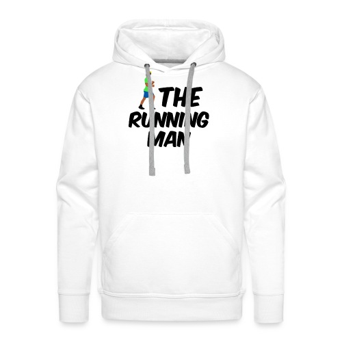 The Running Man Light Blue Short - Men's Premium Hoodie