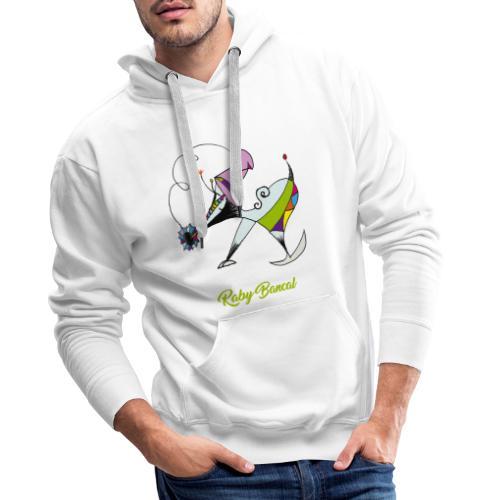 Raby Bancal - Sweat-shirt à capuche Premium pour hommes