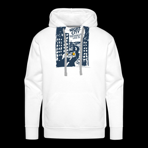 Night City - The World We Live In - Männer Premium Hoodie