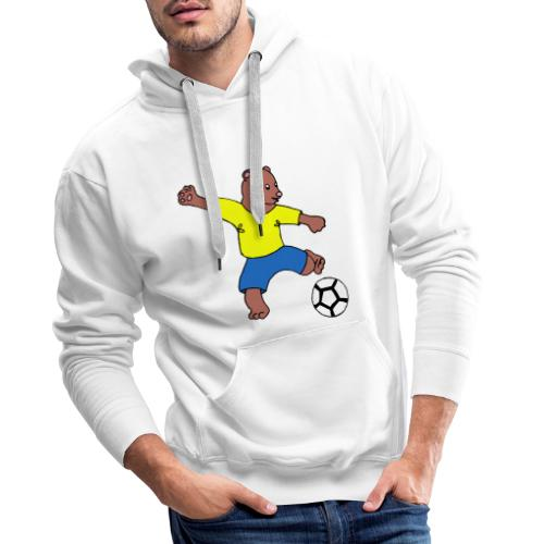 Bill le footballeur - Sweat-shirt à capuche Premium pour hommes